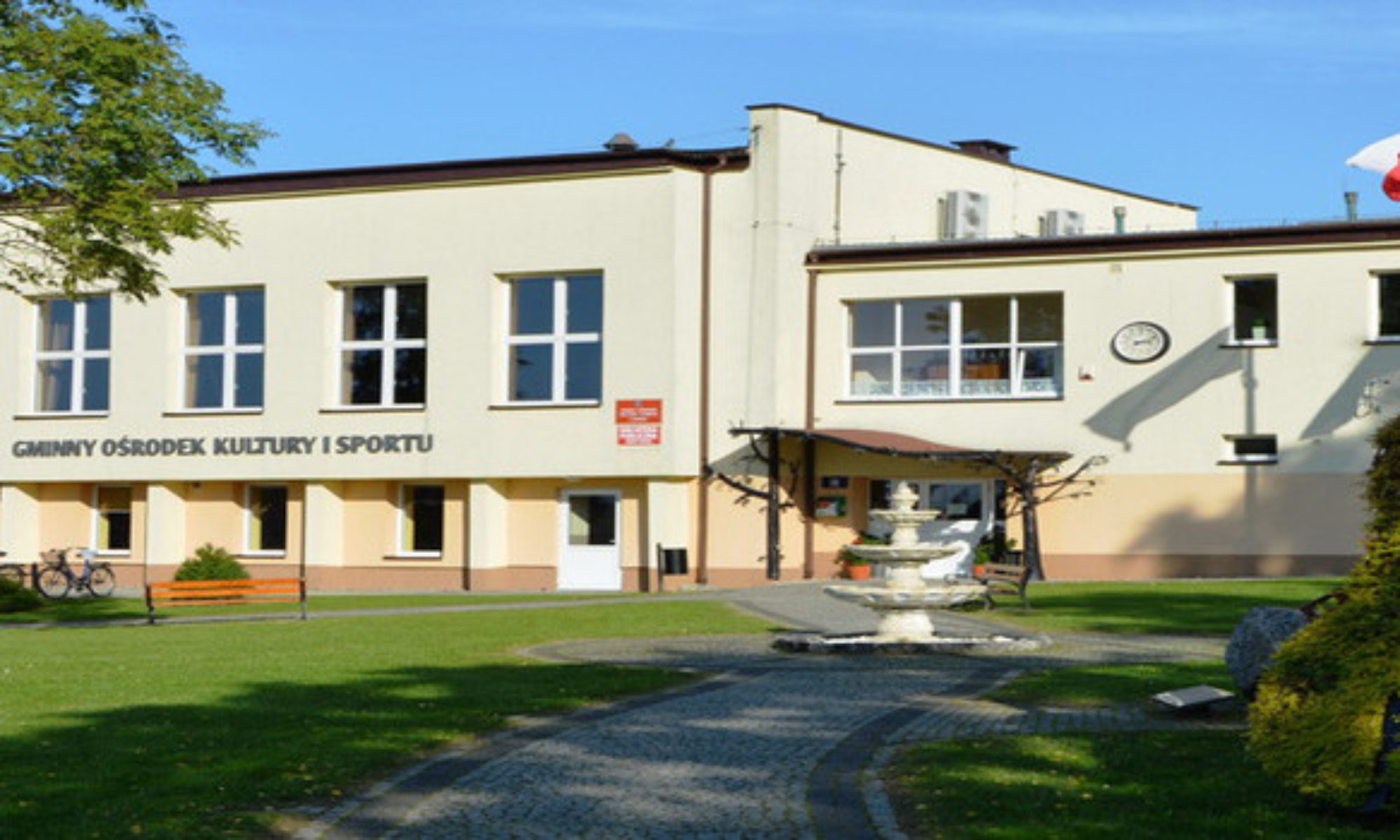 Gminny Ośrodek Kultury i Sportu w Wicku
